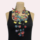 Annemieke Broenink Necklace, Poppy, Happy, Multi-Color