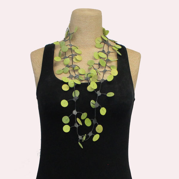 Annemieke Broenink Necklace, Pop, Avocado