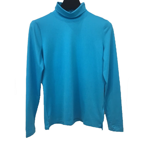 A'Nue Shirt, Turtleneck, Azure