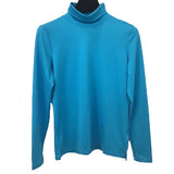 A'Nue Shirt, Turtleneck, Azure XS, S and M/L