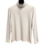 A'Nue Shirt, Turtleneck, Pearl XS