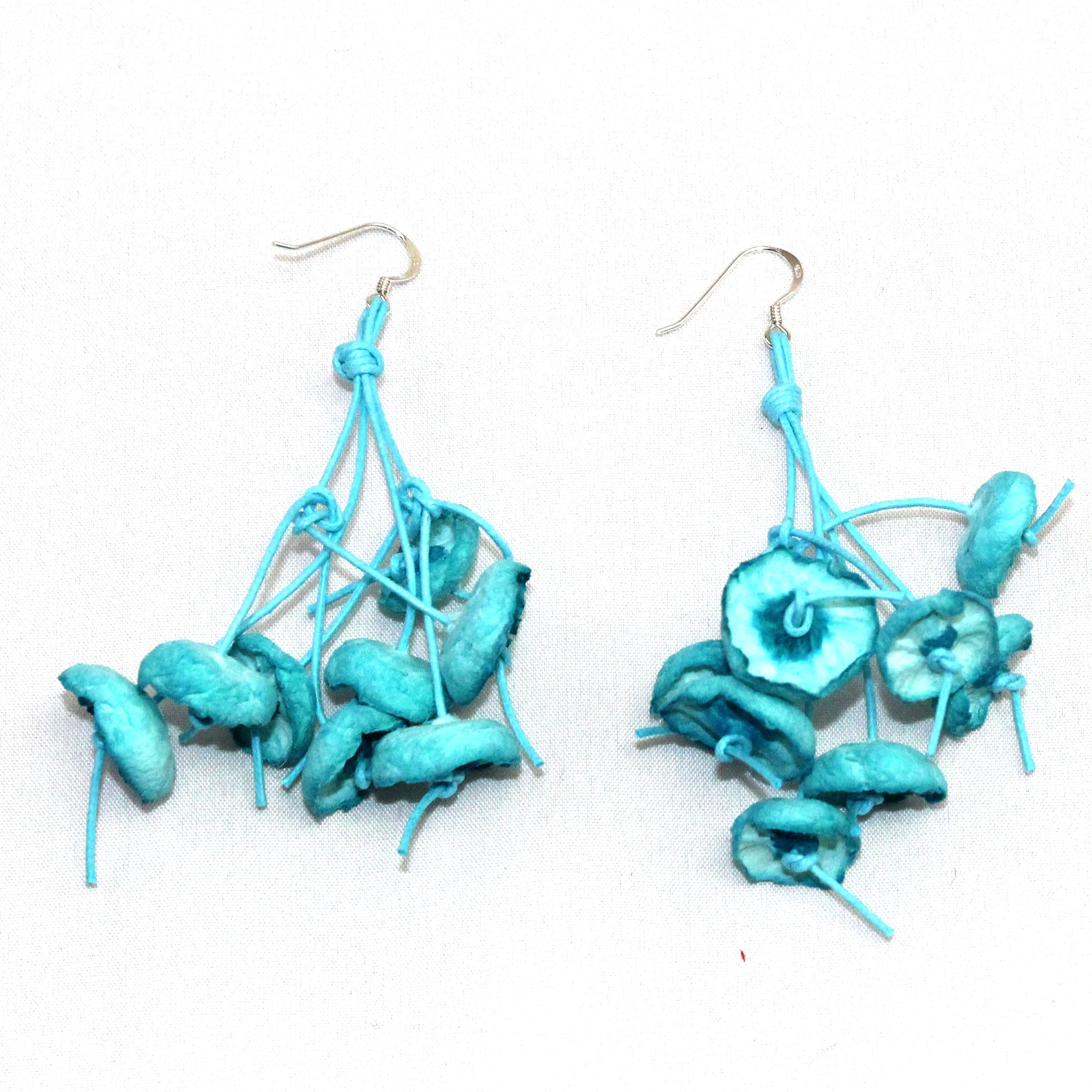 Begona Rentero Earrings, Elena En La Playa, Turquoise