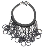 Christina Brampti Necklace, Chunky, Black