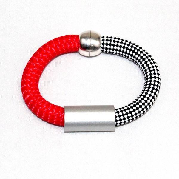 Christina Brampti Bracelet, Red/Black/White