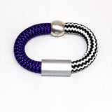 Christina Brampti Bracelet, Purple/Black/White
