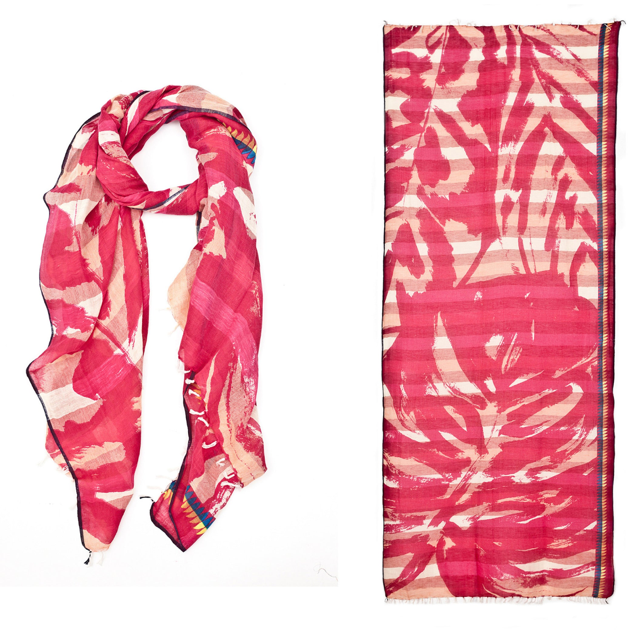 Kala Scarf, Hot Pink