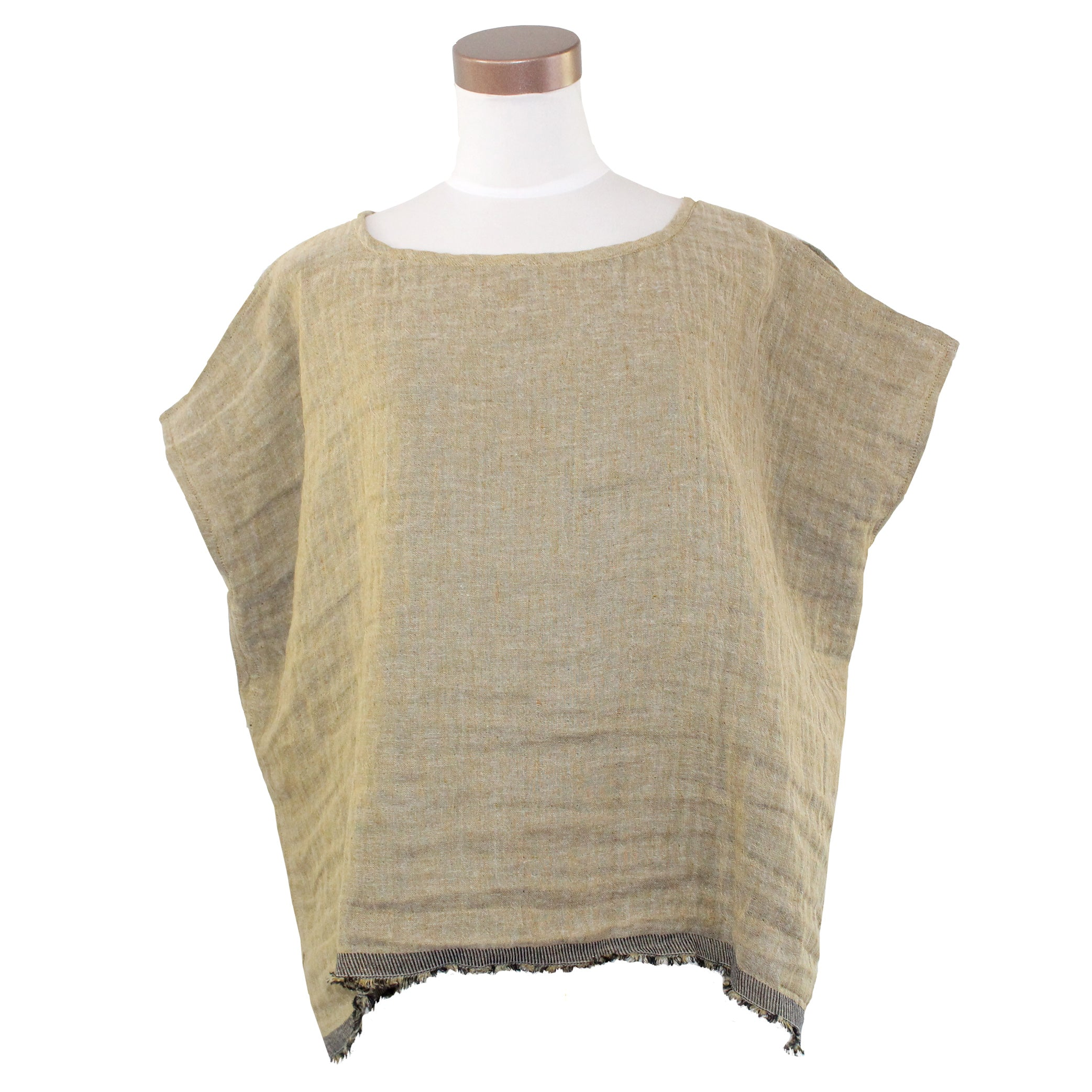 Kim Bernardin Top, Gold, OS