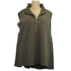 Mary Stackhouse Vest, Swing, Taupe, S/M