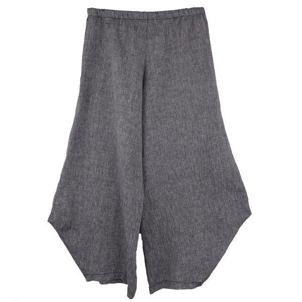 M Square Pant, Out There, Charcoal Grey Linen