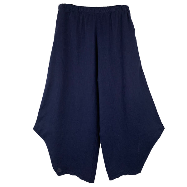 M Square Pant, Out There, Navy Linen