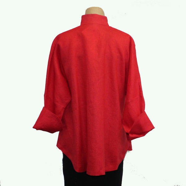 M Square Shirt, Circular, Cherry