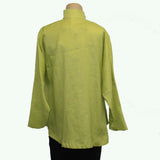 M Square Shirt, Circular, Lime