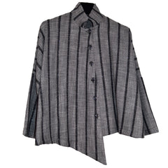 M Square Shirt, Point, Blend