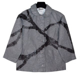 Mau Jacket, Dazzle, Grey/Black, XS