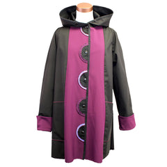 Red Rover, Jacket, Rainwear, Plum/Black