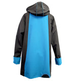 Red Rover, Jacket, Rainwear, Black/Dark Turquoise