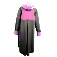Red Rover, Coat, Rainwear, Black/Plum Spiral