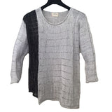 Red Thread Sweater, Cragg, White/Tin, Black/Tin