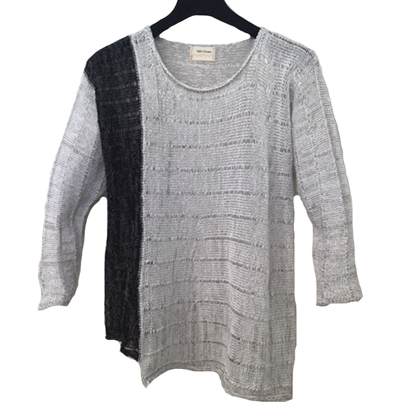 Red Thread Sweater, Cragg, White/Tin, Black/Tin, L