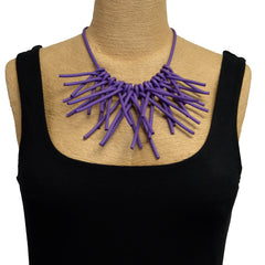 Samuel Coraux Necklace, Short Rubber Sticks (More Colors)