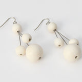 Sylca Designs Earrings, Berna, Ivory