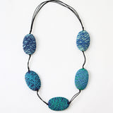 Sylca Designs Necklace, Felicity, Blue