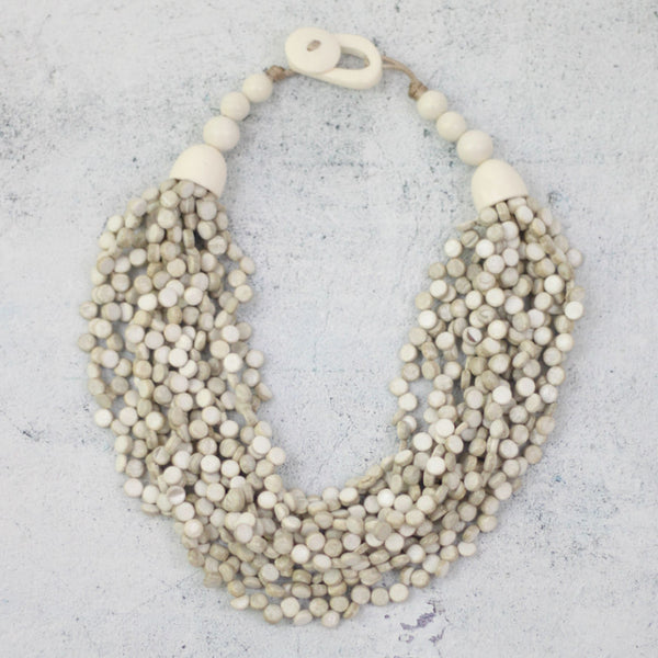 Sylca Designs Necklace, Chunky Juliet, White