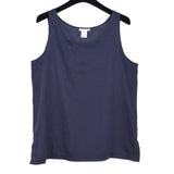 Sophie Finzi Tank, Navy Blue Cotton, M/L