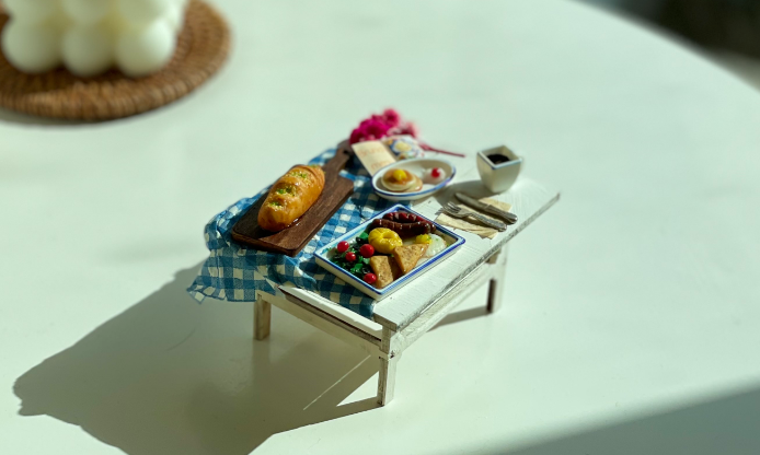 Miniature Chef Food Modeling Class