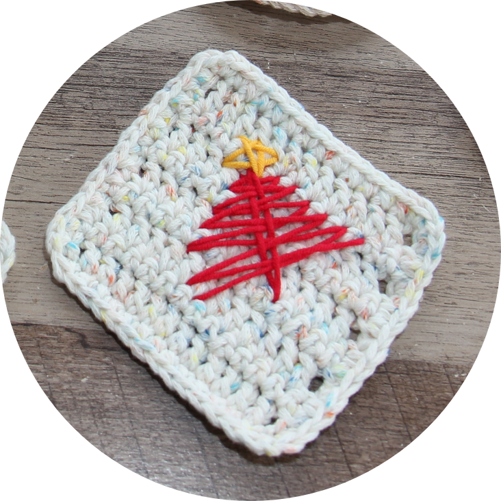 Tree Tea Coaster Crochet Knitting Class