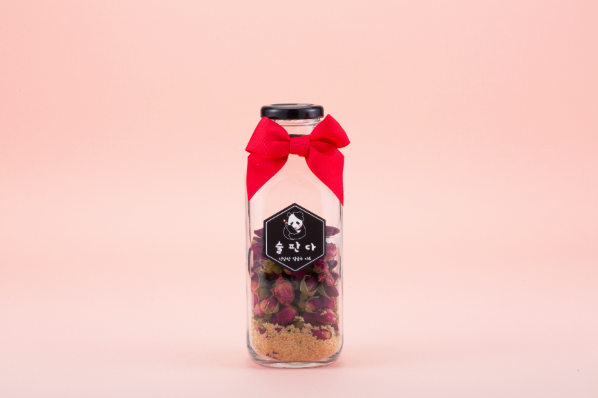 Natural Fruits & Herbs Infuser Starter <La Vie en Rose>