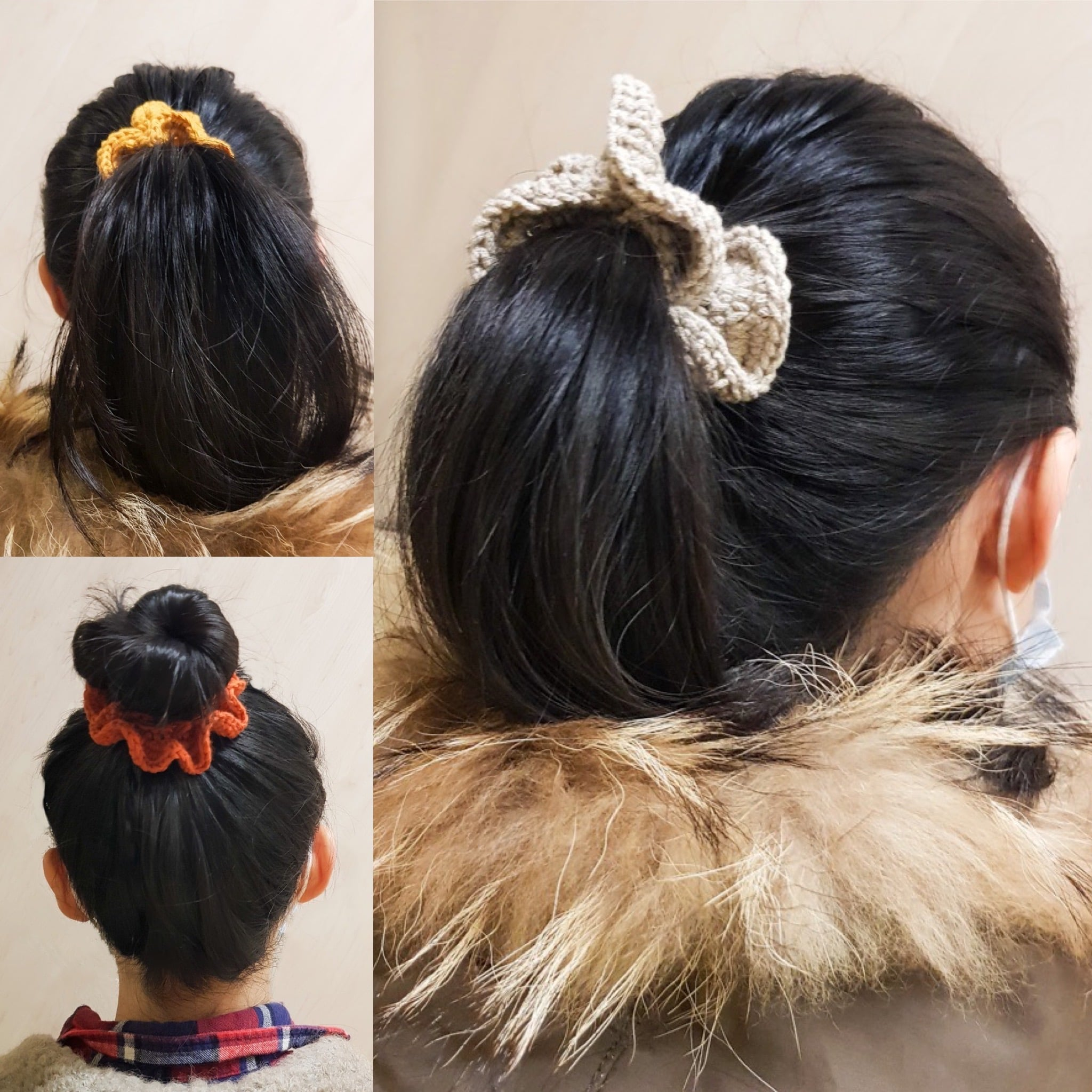 Warm & Fluffy Winter Scrunchie Crochet Class