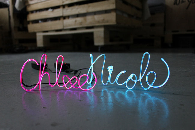Custom Neon Sign Message Class