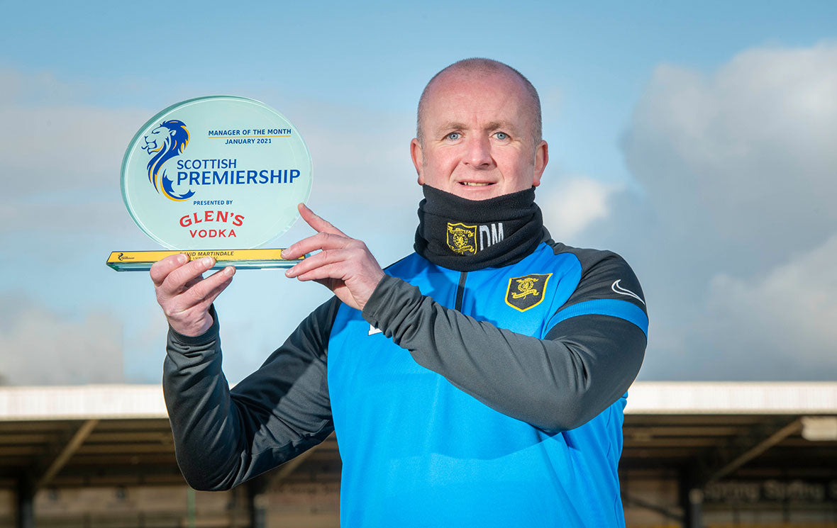 Livingston's David Martindale named Glen's Manager of the Month for January