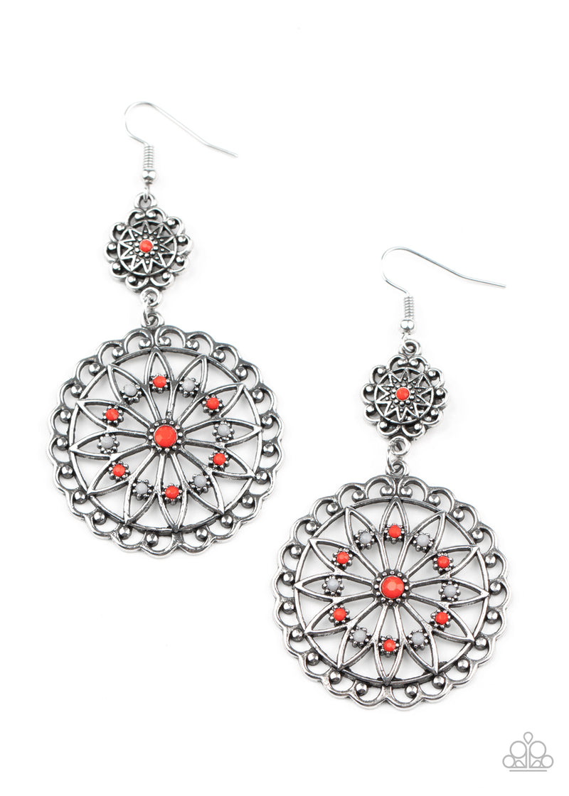 Beaded Brilliance - Red