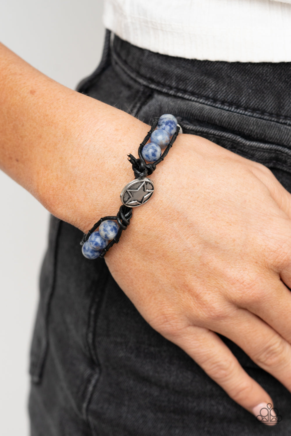 Homespun Stones - Blue