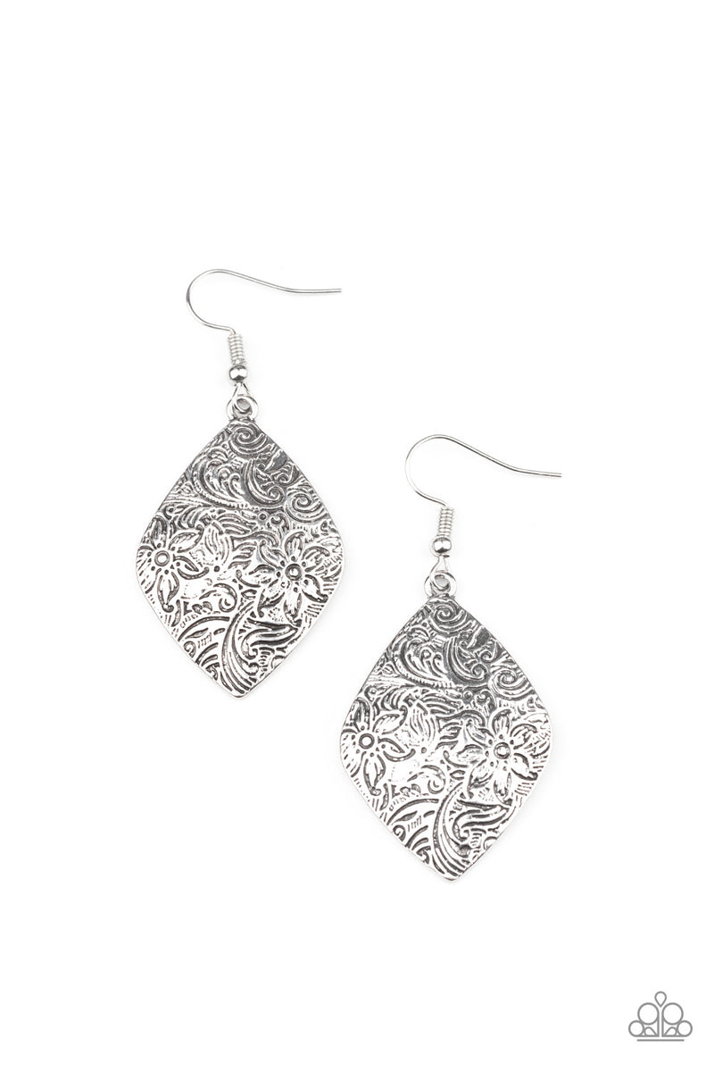 Flauntable Florals - Silver