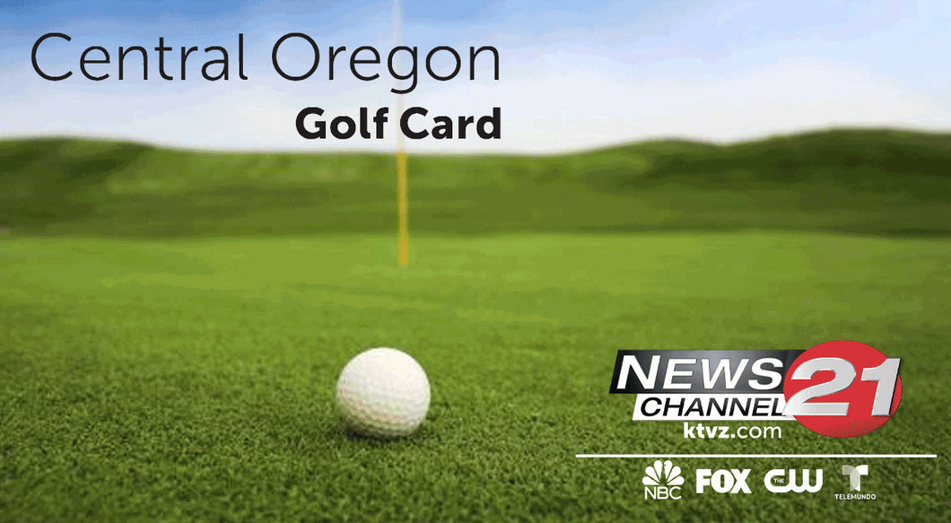Central Oregon Golf Card