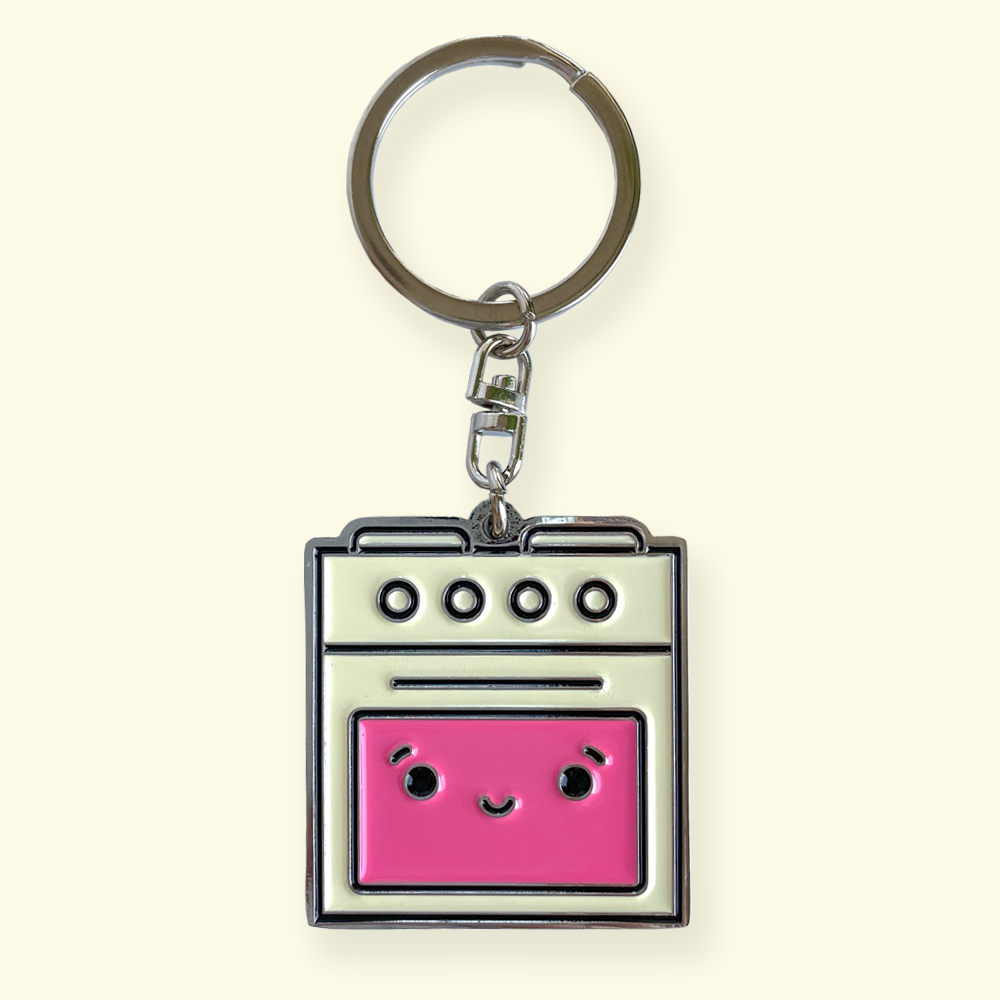 Bad Oven Keychain