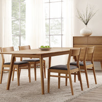 Laurel Dining Collection, Caramelized