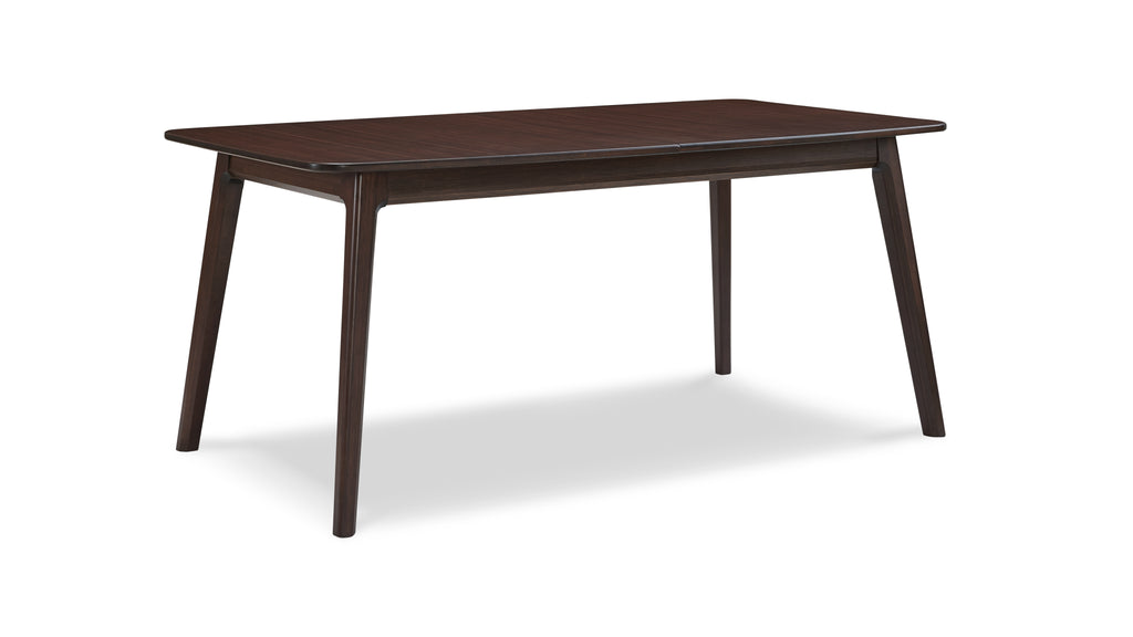 "Laurel 64 - 84"" Extendable Dining Table, Sable"