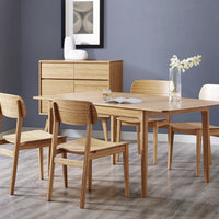 Laurel Mia Dining Collection with Sideboard Cabinet, Caramelized