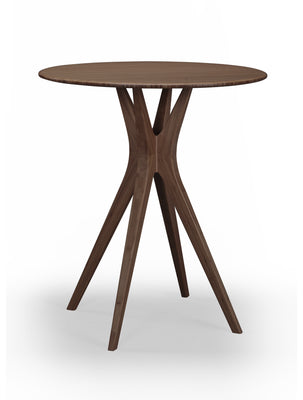 Mimosa Bar Height Table, Black Walnut