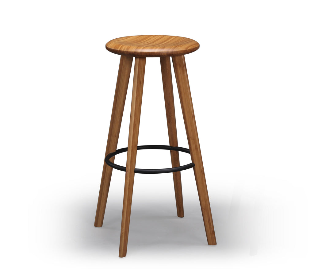 "Mimosa 30"" Bar Height Stool, Caramelized"