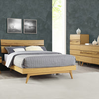 Azara Bedroom Collection Caramalized Finish