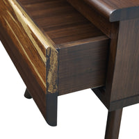 Azara Nightstand Detail, Sable