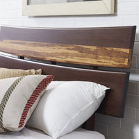 Azara Platform Bed, Sable