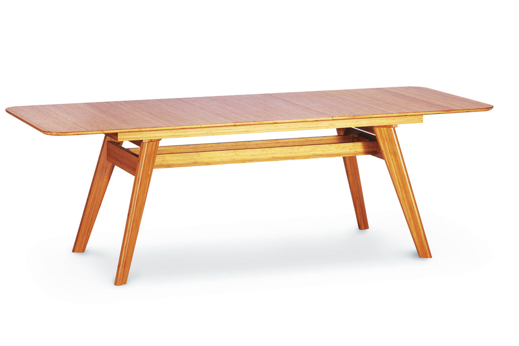 "Currant 72 - 92"" Extendable Dining Table, Caramelized"