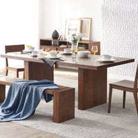 "Aurora 84"" Dining Table, Exotic"