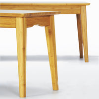 "Currant 48"" Short Bench Detail, Caramelized"